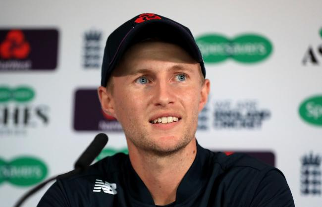 England Test captain Joe Root speaks to the media. Picture: Mike Egerton/PA Wire
