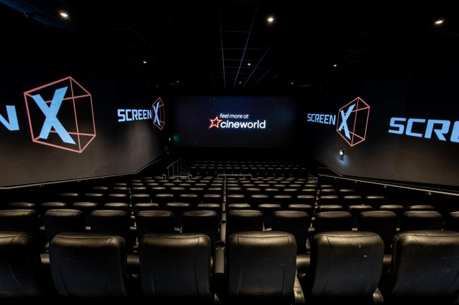 ScreenX- the 270 degree viewing experience to be offered at York's new cinema