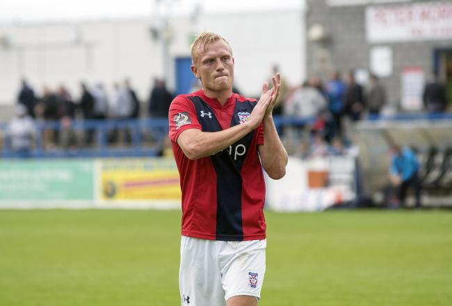 York City striker Jordan Burrow, who scored earlier this month in the 1-1 draw at AFC Telford United. Picture: Ian Parker