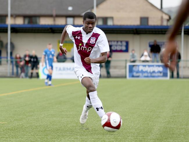 York City striker Kyle McFarlane has joined Stratford Town on a month-long loan. Picture: Gordon Clayton
