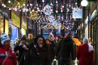 The Christmas lights in the Coppergate Centre will be switched on tomorrow