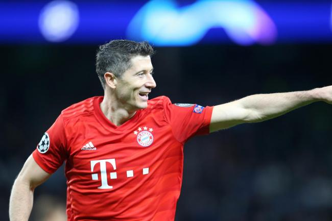 Robert Lewandowski set Bayern Munich on their way to victory under Hansi Flick.