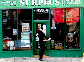MoD police swoop on 'military' store called the Surplus shop on ...