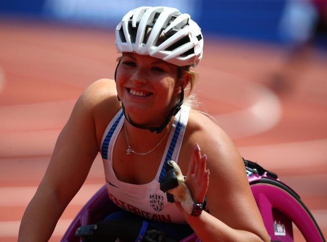 Sammi Kinghorn overcame injury adversity to scoop T53 100m bronze in Dubai