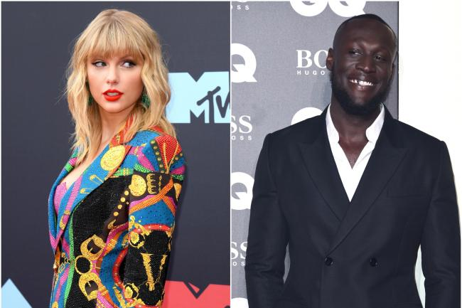 Taylor Swift and Stormzy