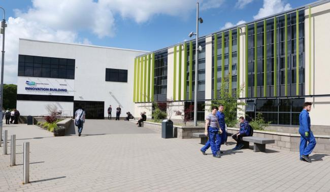 The exterior of Selby College. Picture: Simon Stock
