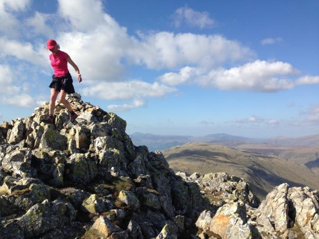Record-breaking fell runner Nicky Spinks is one of the speakers at the York Business Week conference