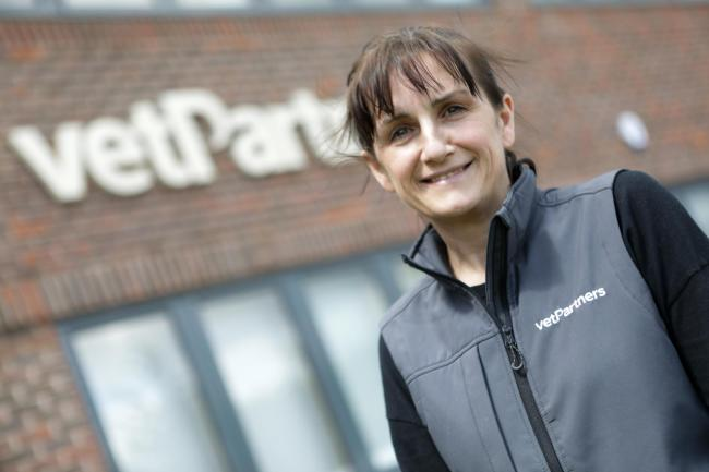 Jo Malone, CEO of VetPartners in York which has joined Britain's top fastest-growing private companies.