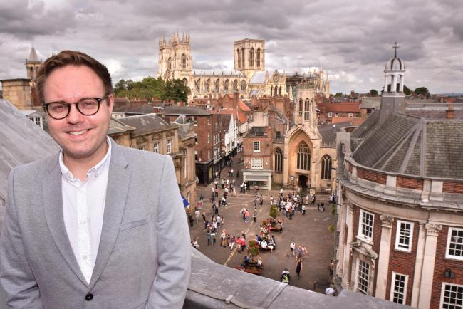 Paul Whiting, head of marketing and communications at Visit York Picture: Frank Dwyer