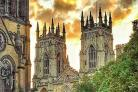 York Minster lies at the heart of the city's historic past