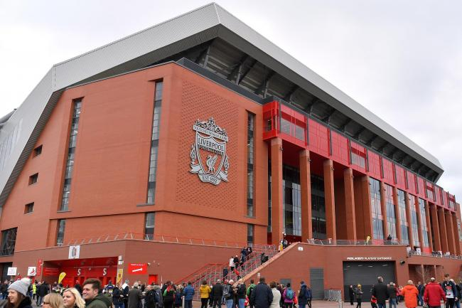 Anfield will host the top-of-the-table clash between Liverpool and Manchester City