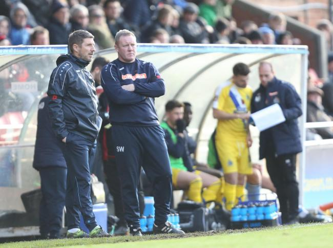 "York City manager Steve Watson admitted ""it wasn't to be"" after being knocked out of the FA Cup by Altrincham. Picture: Gordon Clayton"
