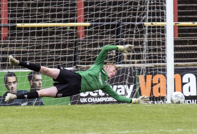 York City Academy keeper Jake Teale. Picture: Ian Parker