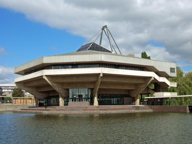 Central Hall on the University of York campus