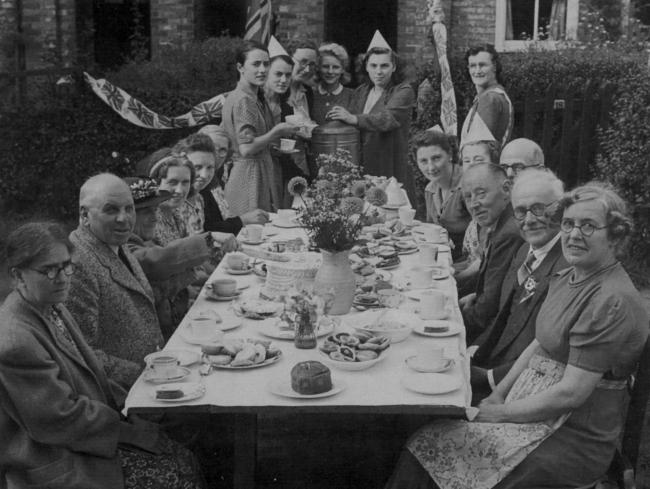 New Earswick villagers celebrate the end of WW2 in 1945 at a street party in Sycamore Avenue. But the post-war generation didn't have it easy, says reader Pamela Brown