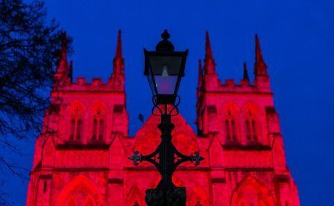 Selby Abbey illumination event