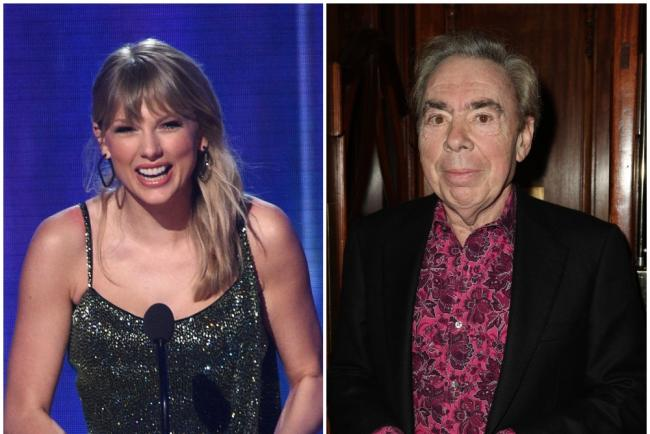 Taylor Swift and Andrew Lloyd Webber