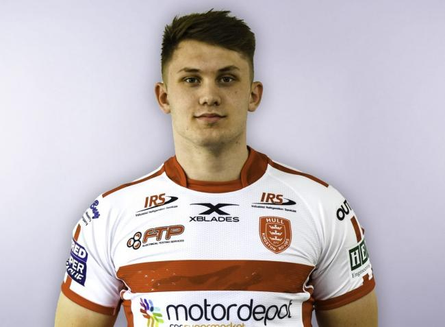 Harry Bardle, who is on trial with York City Knights