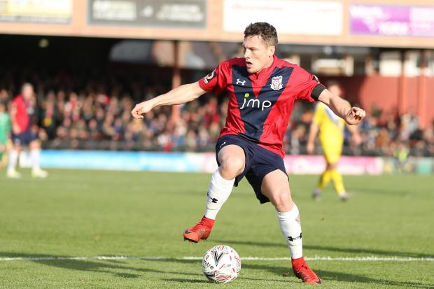 York City striker Dan Maguire may not feature on Saturday against Kettering Town. Picture: Gordon Clayton