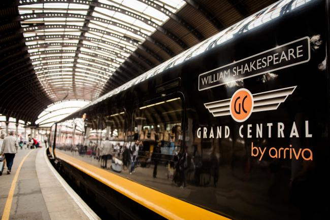 A Grand Central train - the firm is planning 51 job cuts, according to the RMT union
