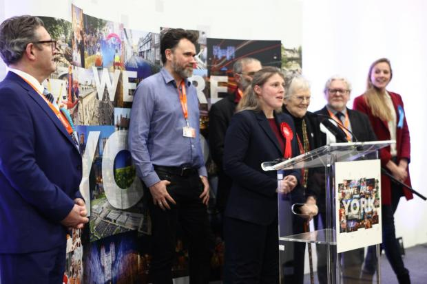 York Press: Labour's Rachael Maskell was elected to York Central