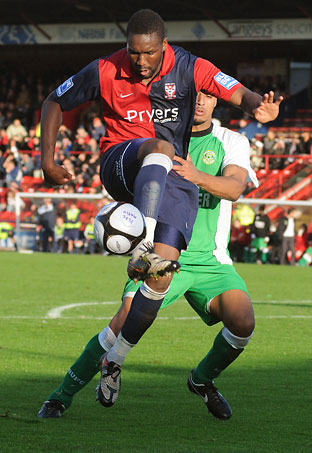 York City 2, Bedworth 0 - FA Cup fourth qualifying round