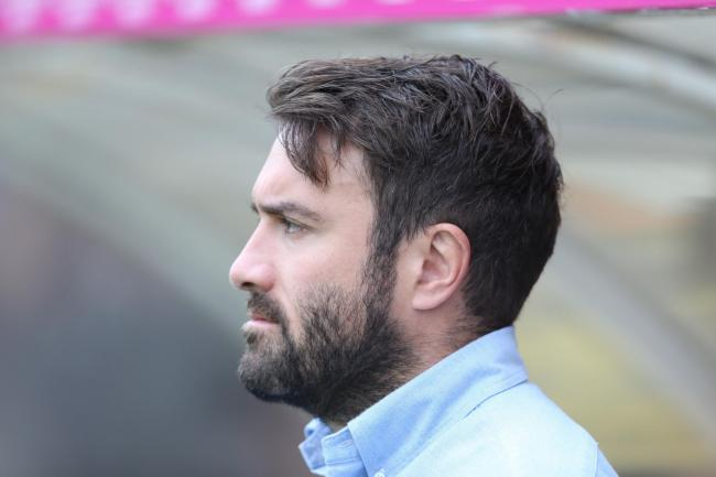 York City Knights coach James Ford York City Knights v Oldham Betfred league 1 clash at Bootham Crescent, York  on the 09/09/2018 PIC BY Gordon Clayton For Editorial Use Only.