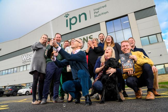 The team at Inspired Pet Nutrition celebrating major milestones