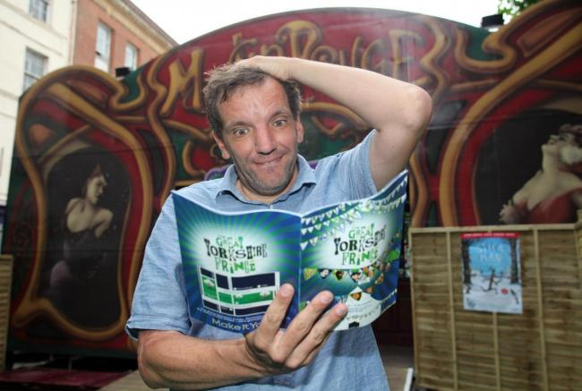 Henning Wehn, pictured at the 2015 Great Yorkshire Fringe