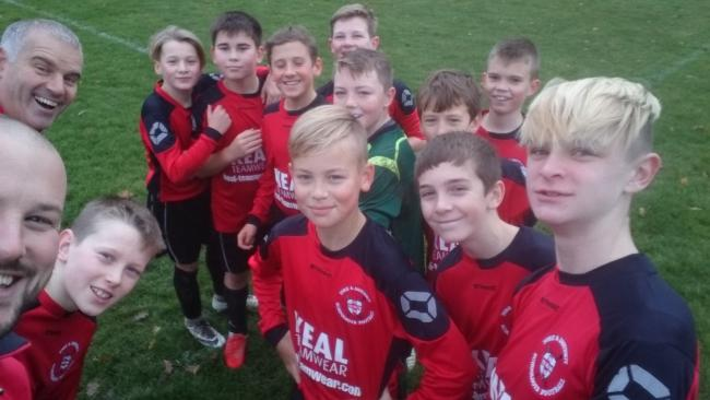 York and District Schoolboys U12s, who triumphed 4-3 over Rotherham.