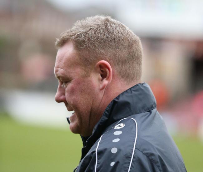Steve Watson was pleased with the patience York City showed in the 2-0 win over Telford. Picture: Gordon Clayton
