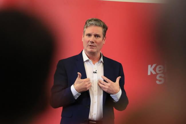 He may be frontrunner in the Labour leadership contest, but Sir Keir Starmer lacks charisma, says Keith Massey. Picture: Peter Byrne/PA Wire