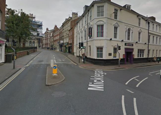 The junction where Micklegate meets George Hudson Street. Picture: Google Maps
