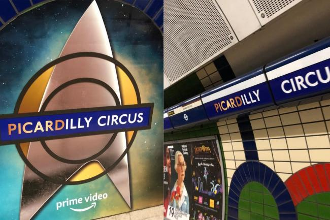 Piccadilly Circus rebranded as Picardilly Circus