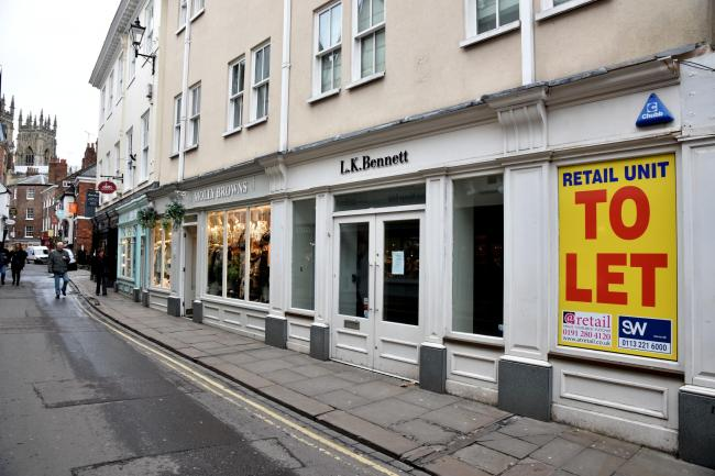 Former LK Bennett store in Low Petergate  Picture: Frank Dwyer