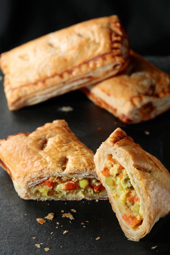 Thomas the Baker's vegetable pasty