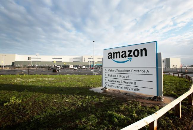 Amazon is set to open a huge warehouse in Darlington Picture: SARAH CALDECOTT