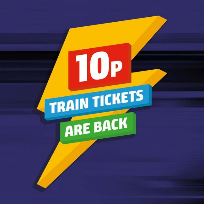Northern sold almost a quarter of a million 10 pence train tickets