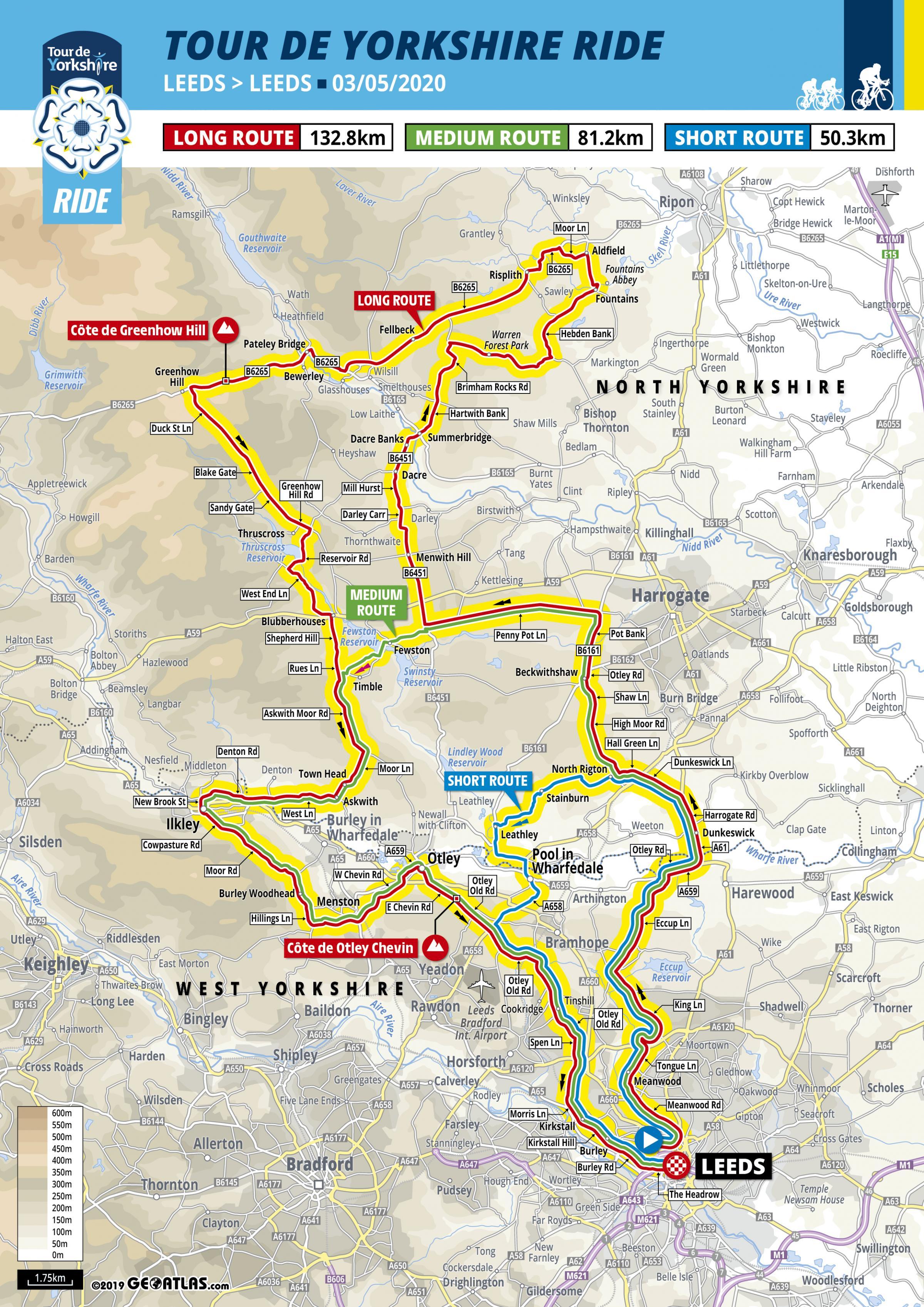 Tour De Yorkshire 2020 Routes Are Unveiled York Press