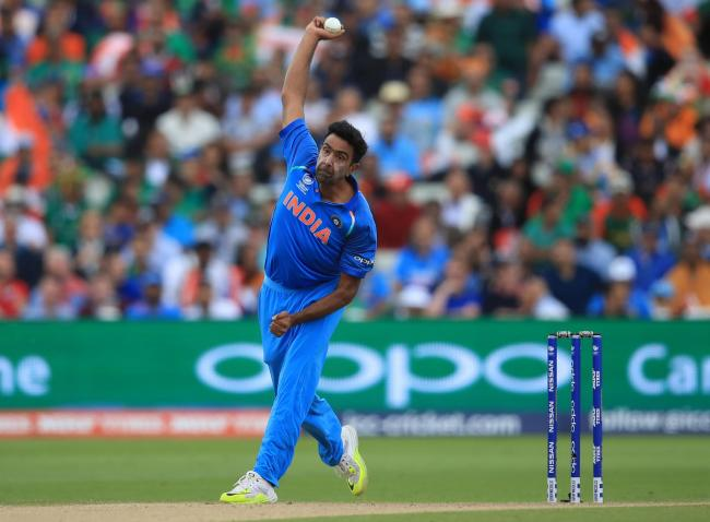 Ravi Ashwin in action for India in the ICC Champions Trophy. Picture: Mike Egerton/PA