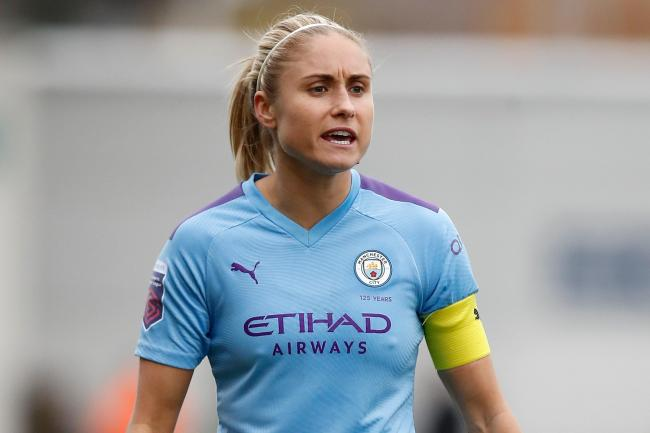 Manchester City Women captain Steph Houghton has extended her stay at the club