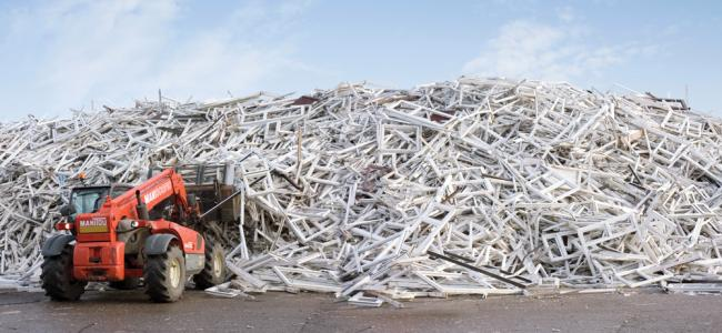 Selby-based Eurocell recycling facility prevents thousands of tonnes of PVC-U from going to landfill