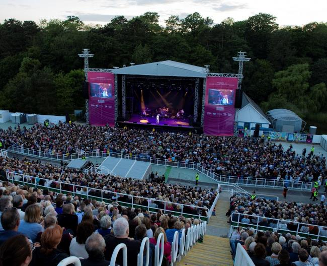 Lionel Richie, pictured at Scarborough Open Air Theatre in 2018, is coming back in 2020 Picture: Cuffe & Taylor