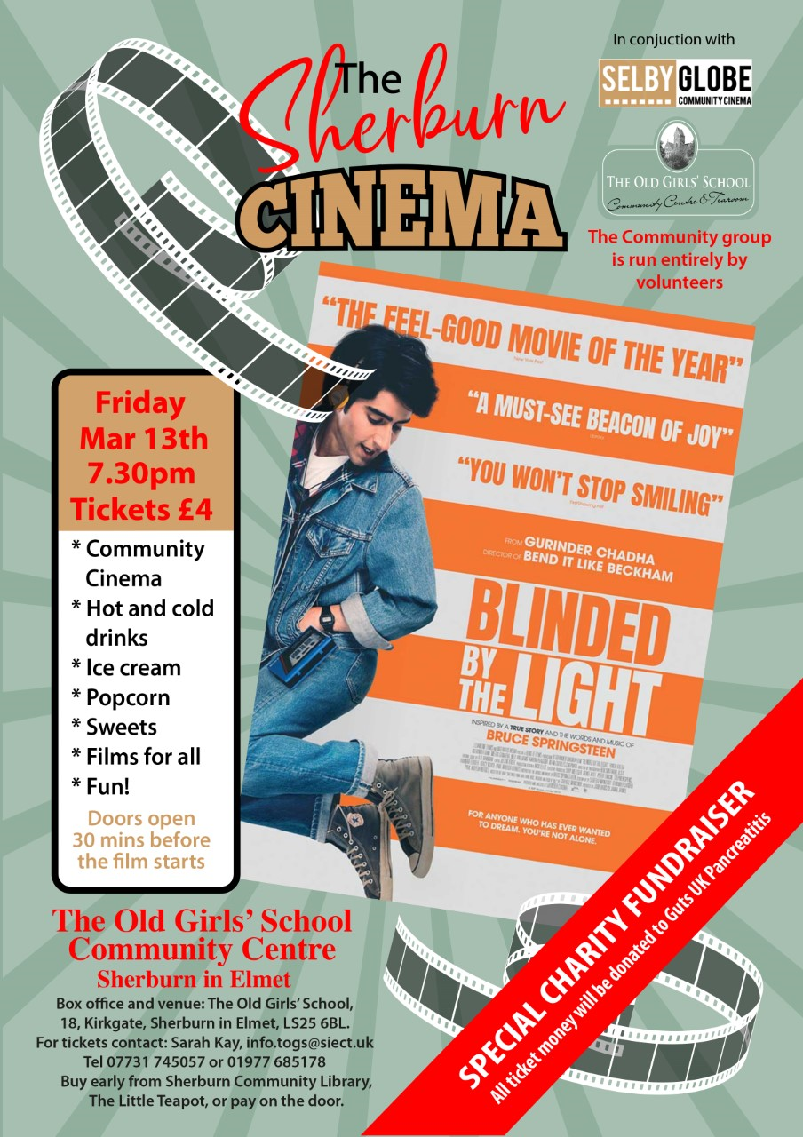 Blinded by the Light - Sherburn Community Cinema