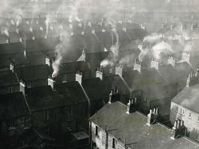 Rooftops of York, 1960