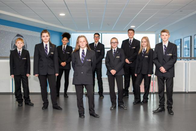 Easingwold Outwood Academy pupils
