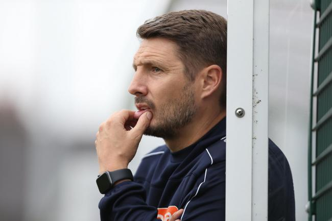 York City assistant manager Micky Cummins is aiming for a winning response at home to Hereford following last weekend's defeat at Boston. Picture: Gordon Clayton
