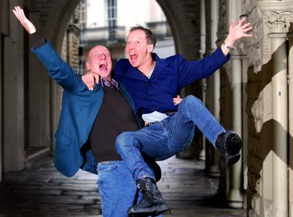 Berwick Kaler and Martin Barrass return to the Theatre Royal in York, for this year's pantomime, Humpty Dumpty.