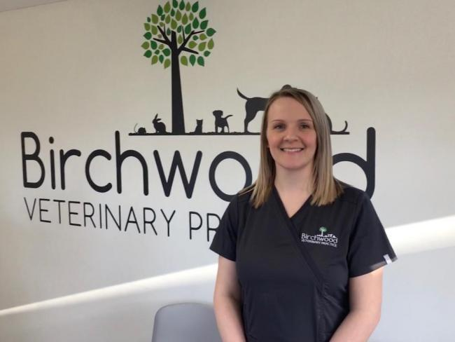 Steph Neary, the newly appointed veterinary nurse at Birchwood Vets in Gate Helmsley