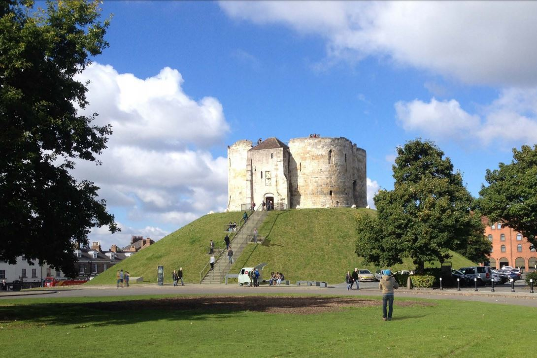 Revealed: How Clifford's Tower in York will look after its make-over